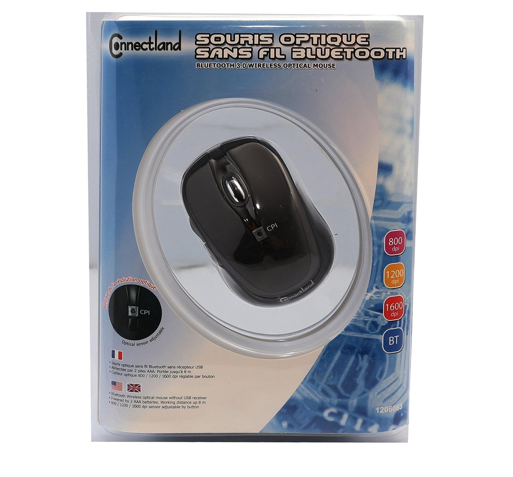 Color : Sapphire Blue+Exclusive Color Box GUODLIN Wireless Business Office Mouse with Unique Silent Click 800//1200//1600 DPI Ergonomic Grips 6 Button Design 5 Colors Can be Choose
