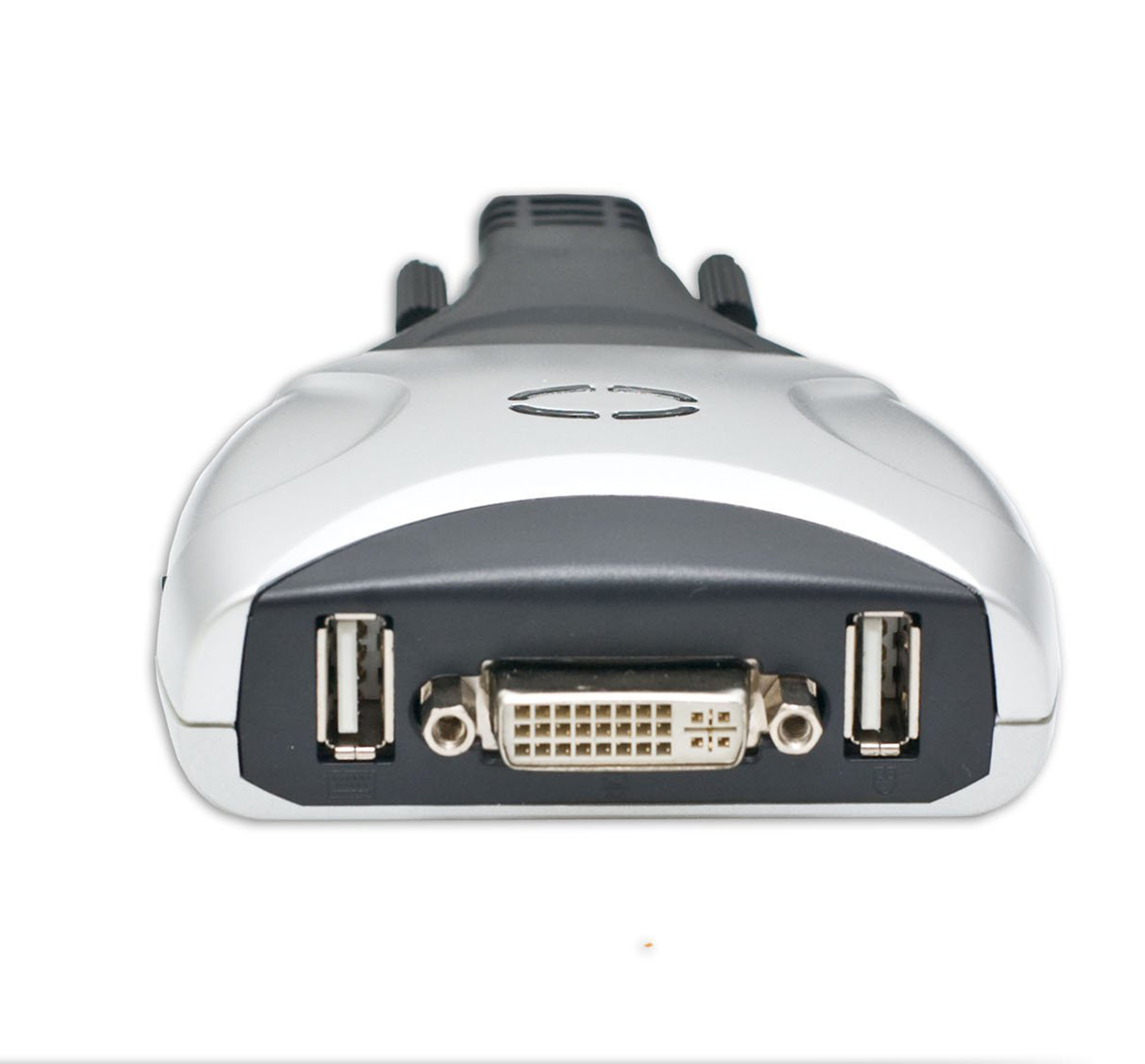 2 Port DVI KVM Switch With USB 20 And Audio Support