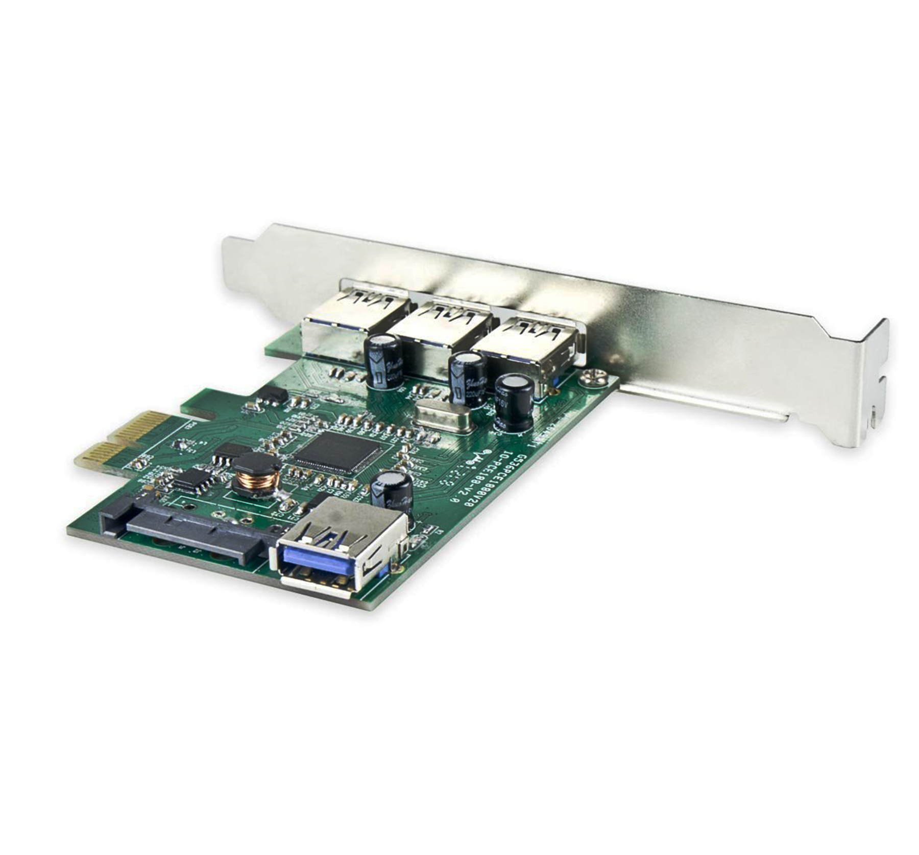 4 Port Usb 30 Pci E 20 X1 Card