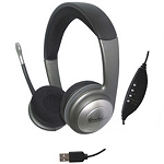 USB Stereo Headphone with Built-in Microphone