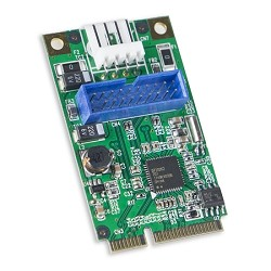 USB 3.0 19 Header Mini PCI-e 2.0 Card