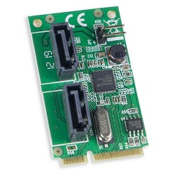 2 Port SATA III Mini PCI-e 2.0 Card