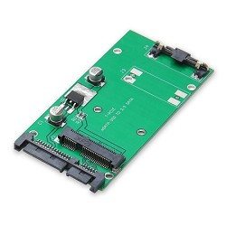 "70mm mSATA SSD to 2.5"" SATA III Adapter"