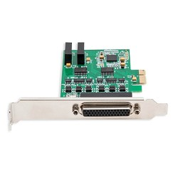 2 Port RS-422/485 Serial PCI-e x1 Card