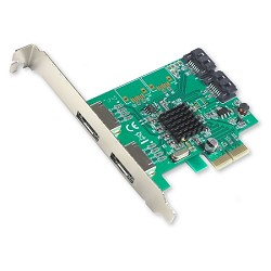 2 Port SATA III and 2 Port eSATA RAID PCI-e 2.0 x2 Card