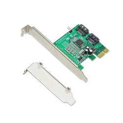 2 Port SATA III PCI-e 2.0 x1 Card