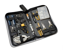 65 Pieces Computer Tool Kit, Slim Zipped Case