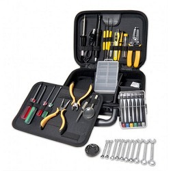 41 Pieces Professional Workstation Repair Tool Kit, PU Carrying Case with Zipper