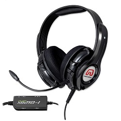 GamesterGear Cruiser PC210-I USB Gaming Headset with Bass Quake